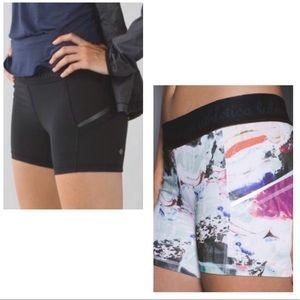 Lululemon 'What The Sport' Stretch Running Shorts